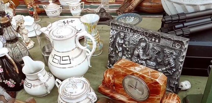 Antiquität. Quelle: Screenshot YouTube