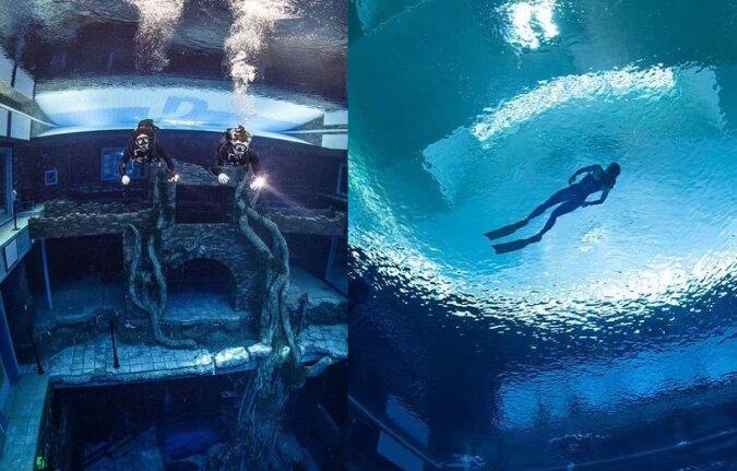Deep Dive. Quelle:dailymail.co.uk