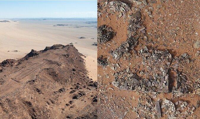 Steinstrukturen. Quelle:dailymail.co.uk