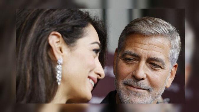 George Clooney und seine Ehefrau Amal Clooney. Quelle: obozrevatel
