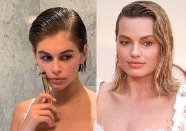 Der Wet-Hair-Look. Quelle:dailymail.co.uk