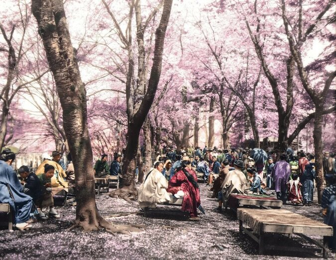"""""""Zeitalter der Samurai"""": Der Fotograf malte Schwarz-Weiß-Aufnahmen von japanischen Soldaten  bunt aus und gab ihnen ein zweites Leben"""