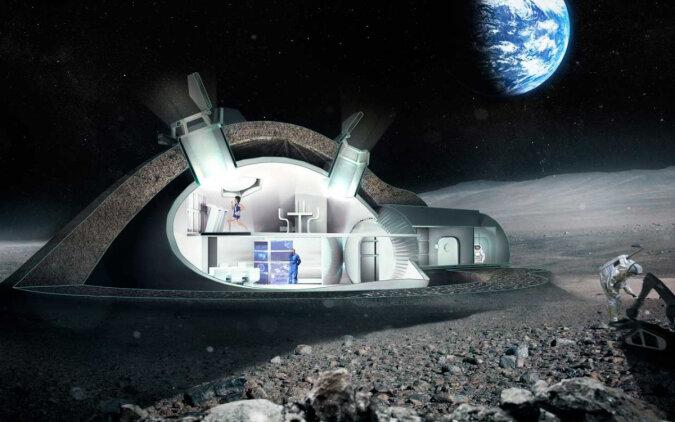 """""""Eroberung des Weltraums"""": Es wurde bekannt, wie das erste Haus eines Astronauten auf dem Mond aussehen wird"""