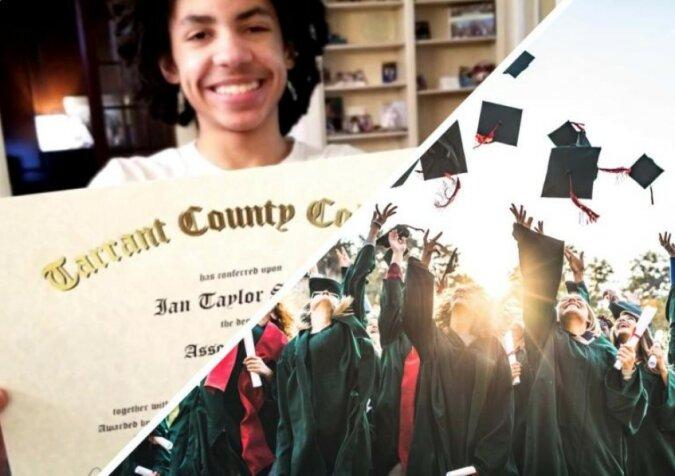 """""""Mit Genetik kann man nicht streiten"""": Der Junge hat im Alter von 14 Jahren das College abgeschlossen, aber seine Eltern sehen darin nichts Besonderes"""