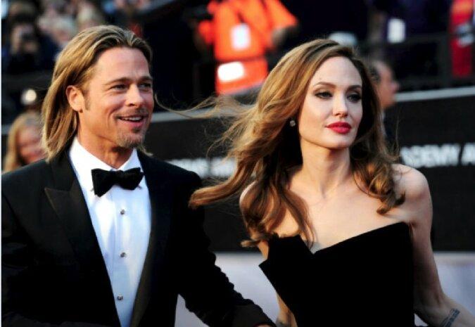 Brad Pitt und Angelina Jolie. Quelle: Screenshot YouTube