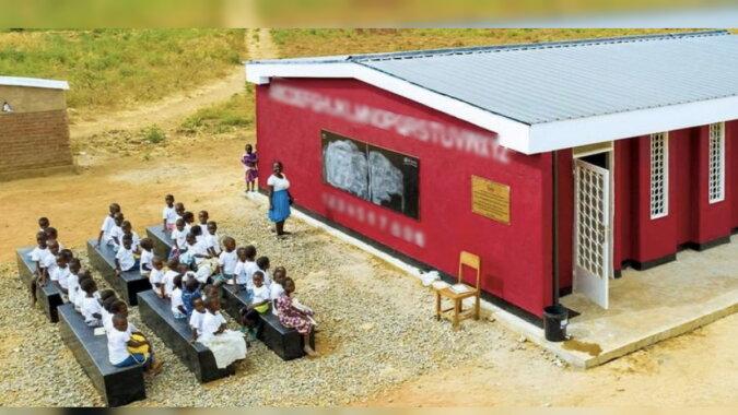 Eine gedruckte Schule. Quelle: propertywheel