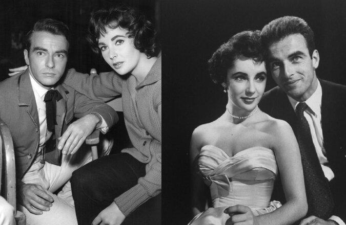 Elizabeth Taylor und Montgomery Clift. Quelle:dailymail.co.uk