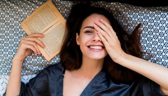 Eine glückliche Frau. Quelle: marieclaire.com
